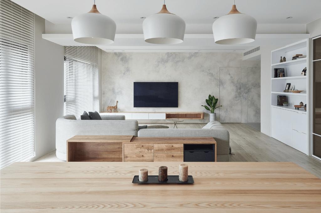 清新脫俗的北歐風格   浩室室內設計作品   淨區