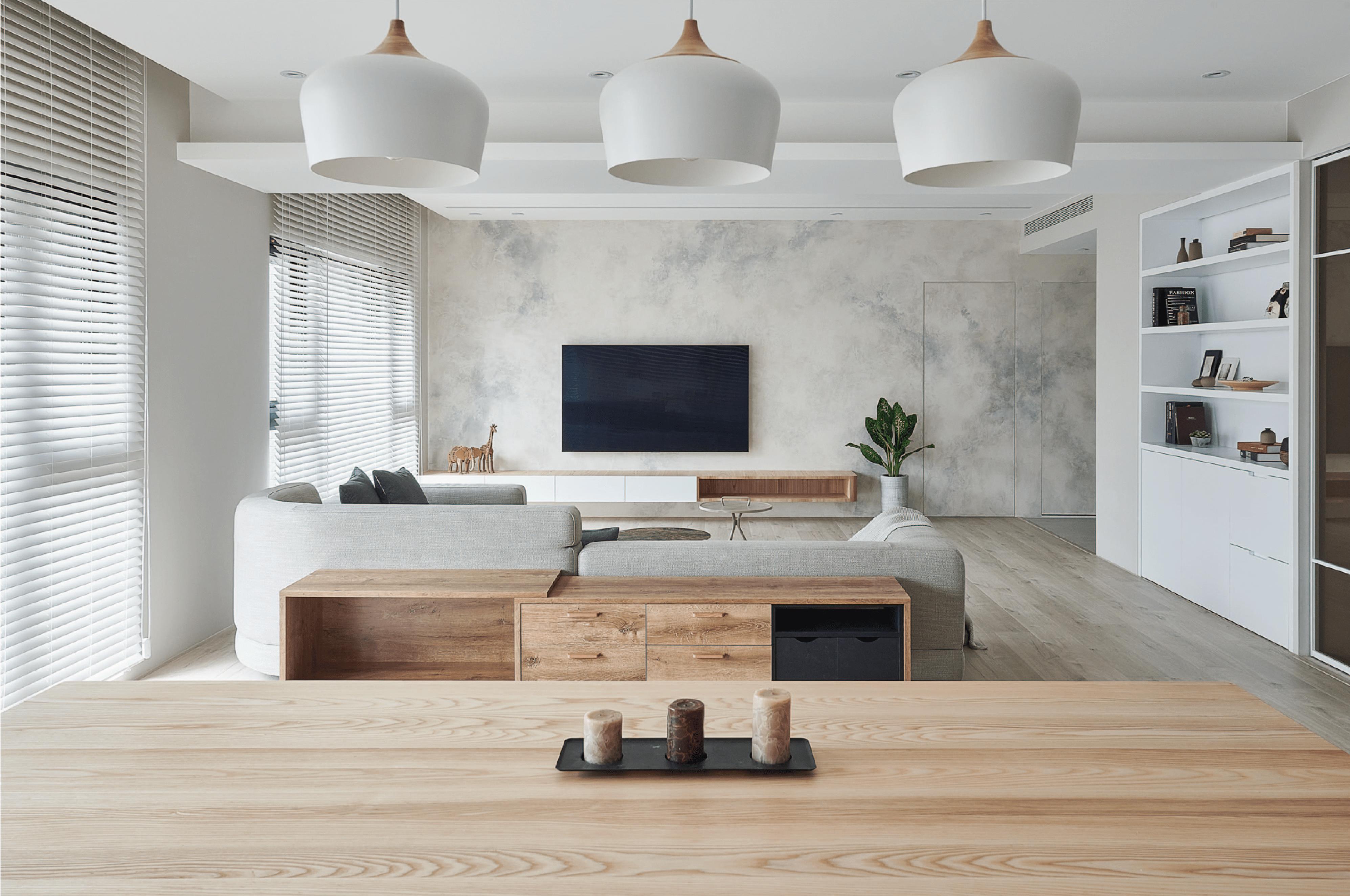 清新脫俗的北歐風格 | 浩室室內設計作品 | 淨區