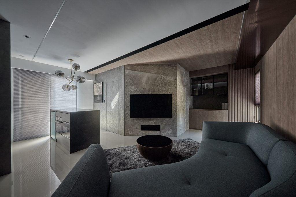 18 坪現代風.兼具機能與美型的生活場域 | 浩室室內設計作品 | 褪盡鉛華